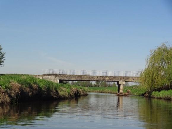 Most nad Utratą w Nowym Łuszczewku