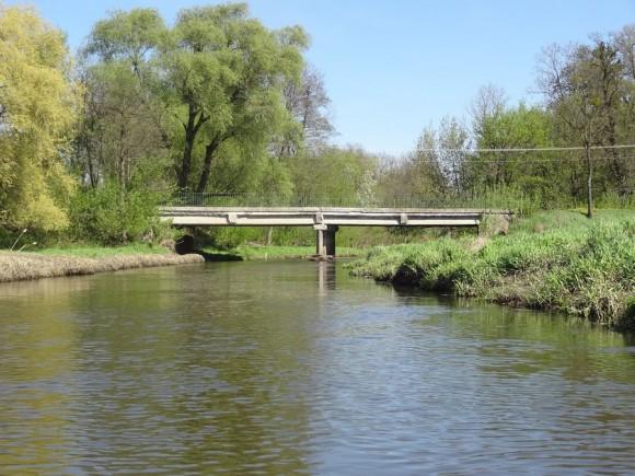 Most drogowy na Utracie w Pawłowicach