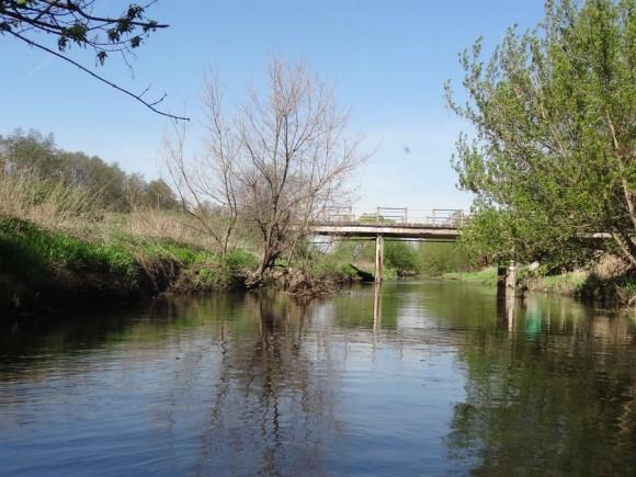 Most drogowy na Utracie, na trasie Paprotnia - Kampinos