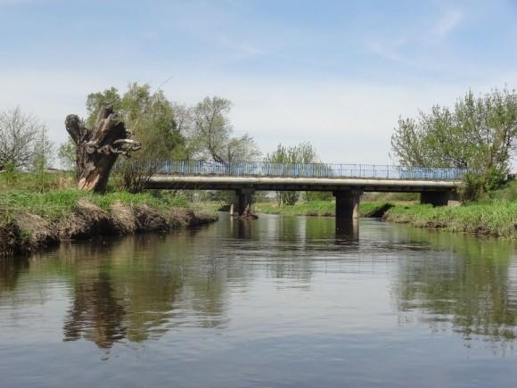 Most drogowy w Zawadach