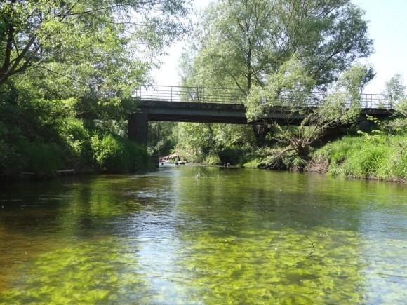 Most drogowy na Sonie w okolicy Miszewa