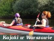 kajaki Warszawa