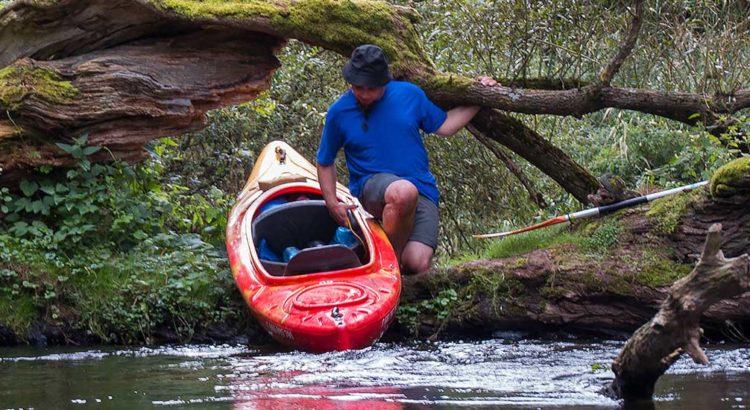 Rega - przeszkoda na rzece